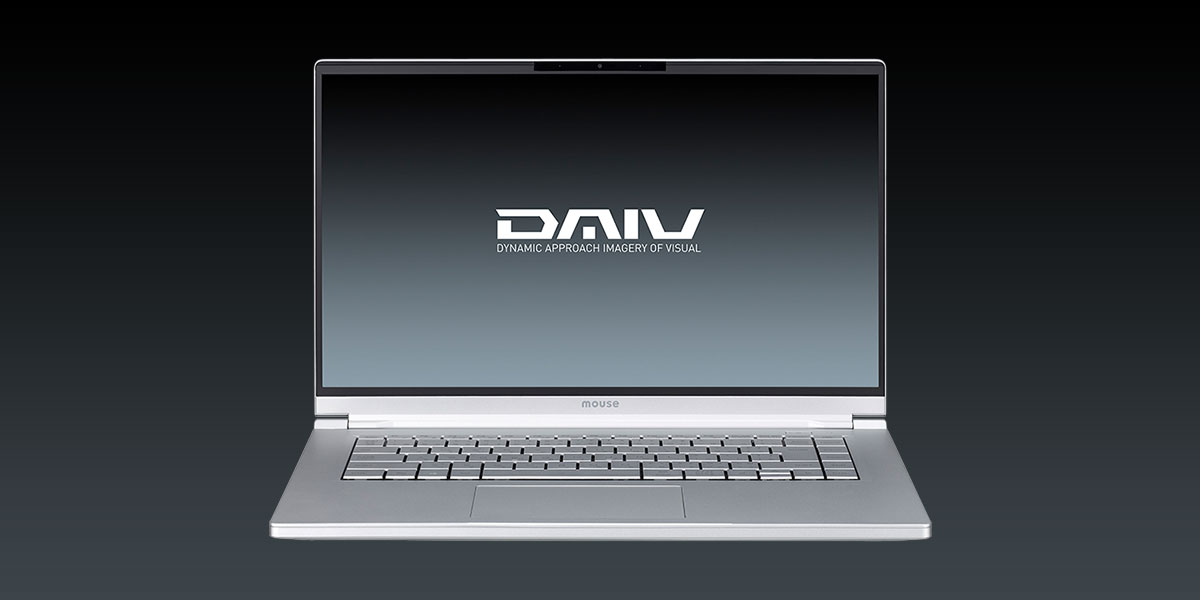 DAIV 5P 正面