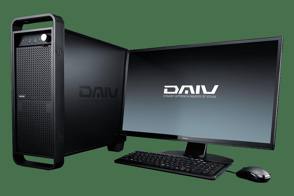 【マウスコンピューター/DAIV】DAIV-DQX760U3-M2S10-Pro[クリエイターデスクトップPC]